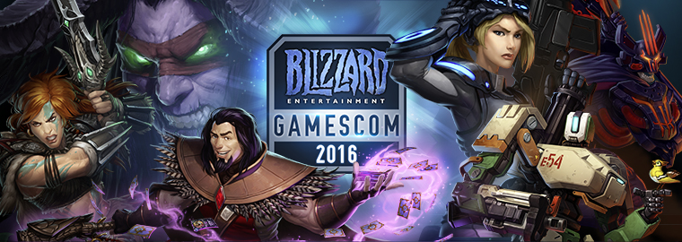 Blizzard Entertainment à la gamescom 2016