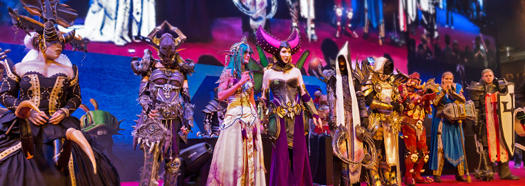 Blizzard Costume Contest Winners at gamescom