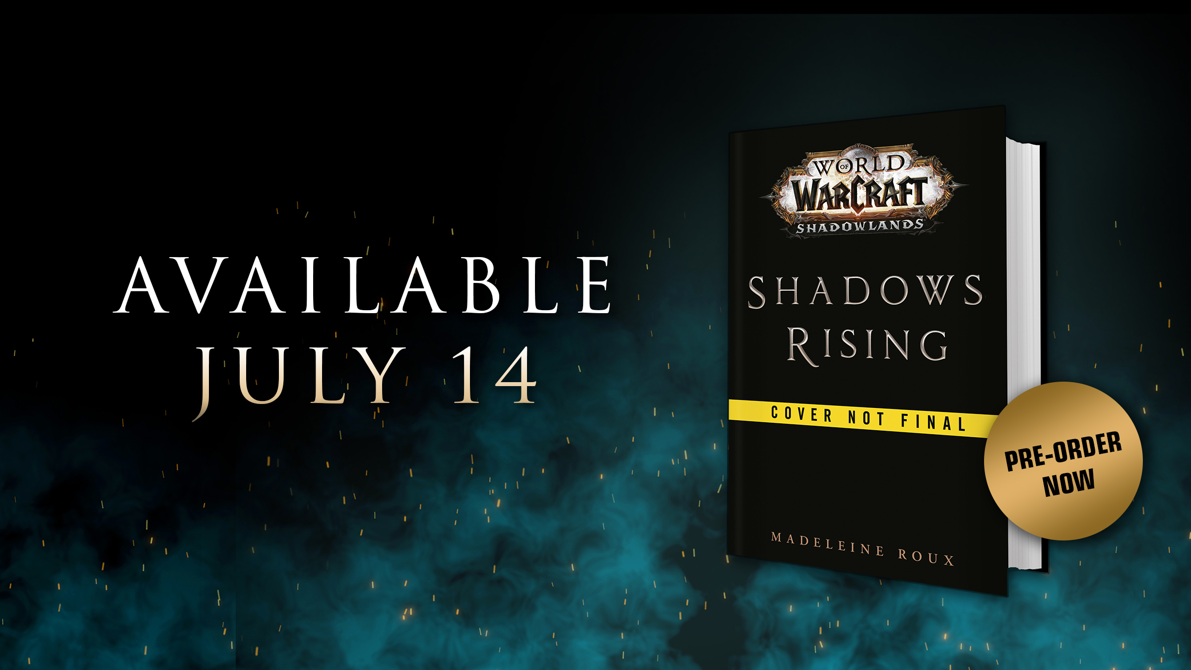 Shadows Rising Now Available for Pre-purchase