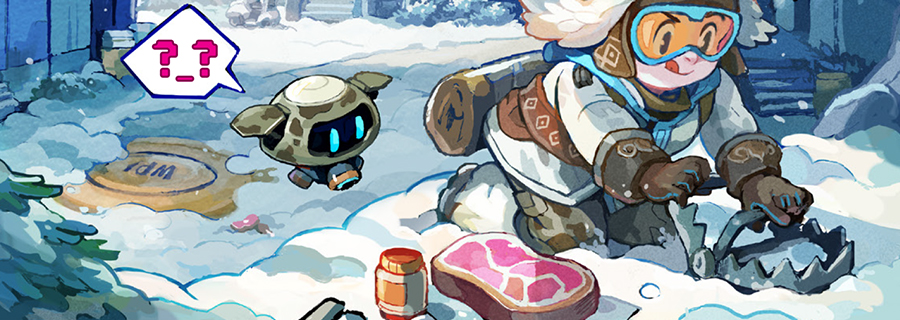 Cómic digital de Overwatch: «Caza del yeti»