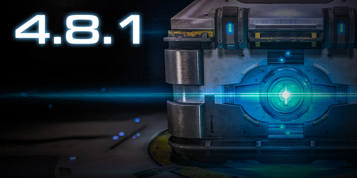 Notes de mise à jour pour la version 4.8.1 de StarCraft II
