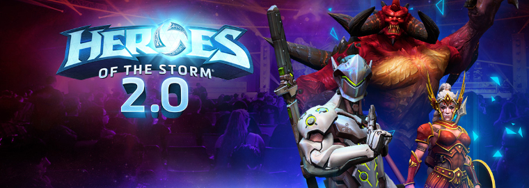 Heroes of the Storm 2.0 излиза на 26 април