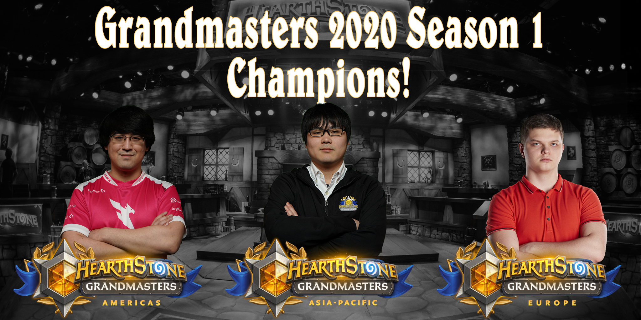 Grandmasters 2020 Season 1 Champions Are Heading to the World Championship!