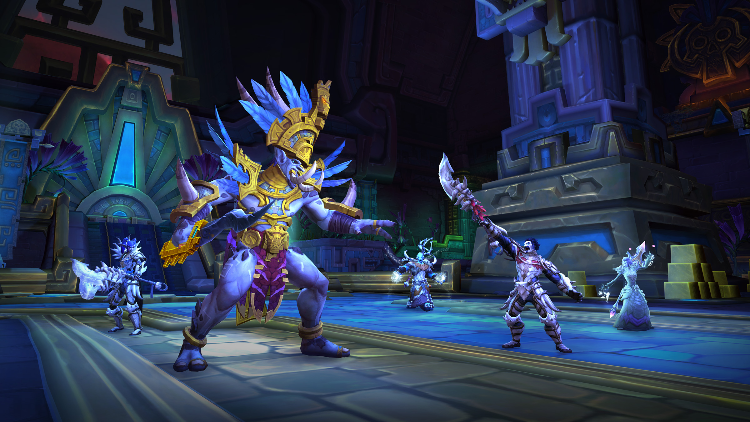 Battle of Dazar'alor Normal and Heroic Raid Now Open