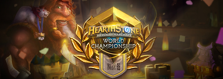 Congratulations to the Hearthstone World Championship Winner!