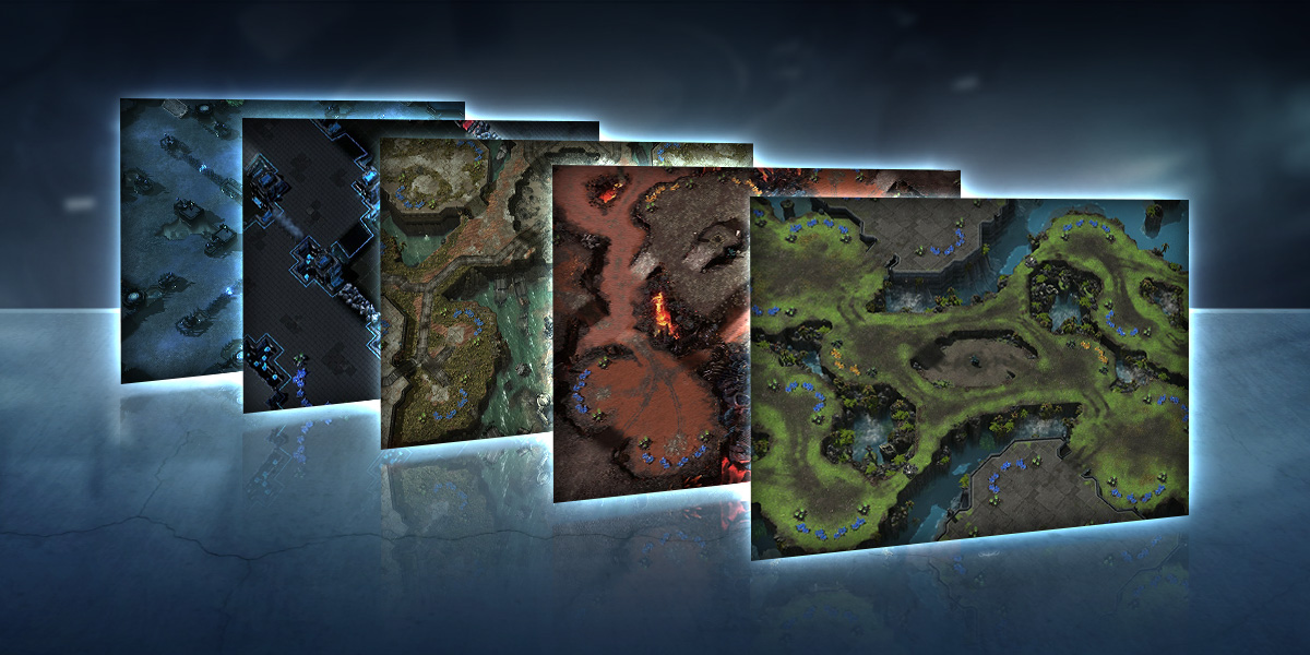 New Ladder Maps for Season 2, 2018