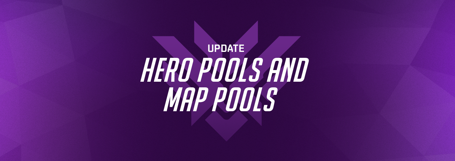 Refining Hero Pools and Retiring Map Pools