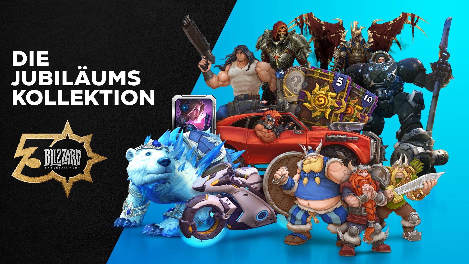 Feiert mit der Jubiläumskollektion 30 Jahre Blizzard®