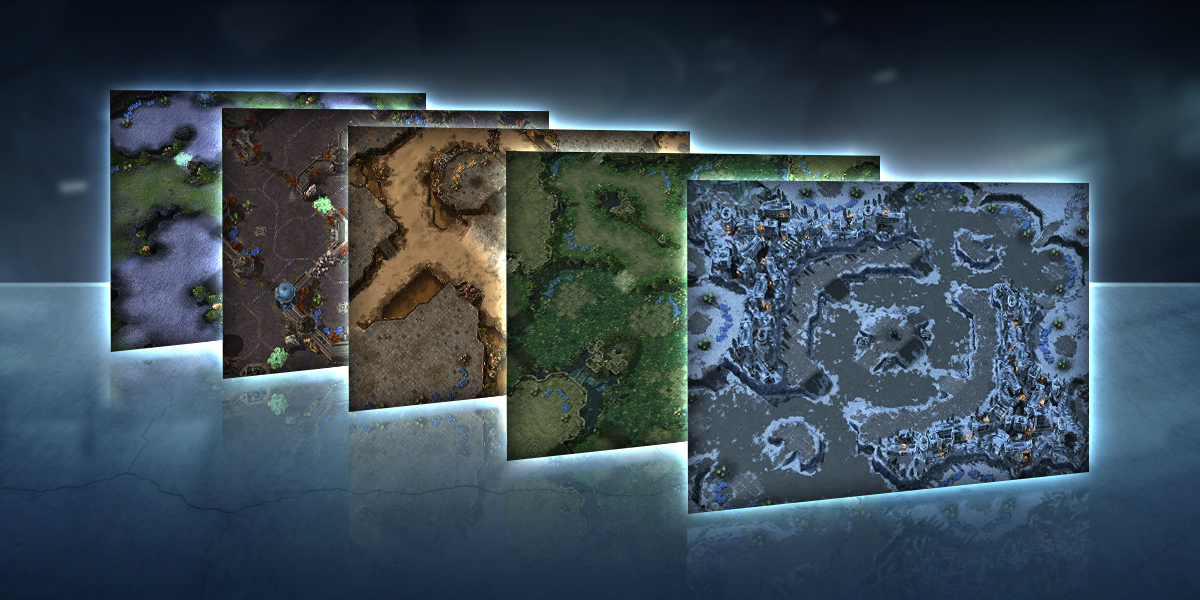 New Ladder Maps for Season 1, 2018