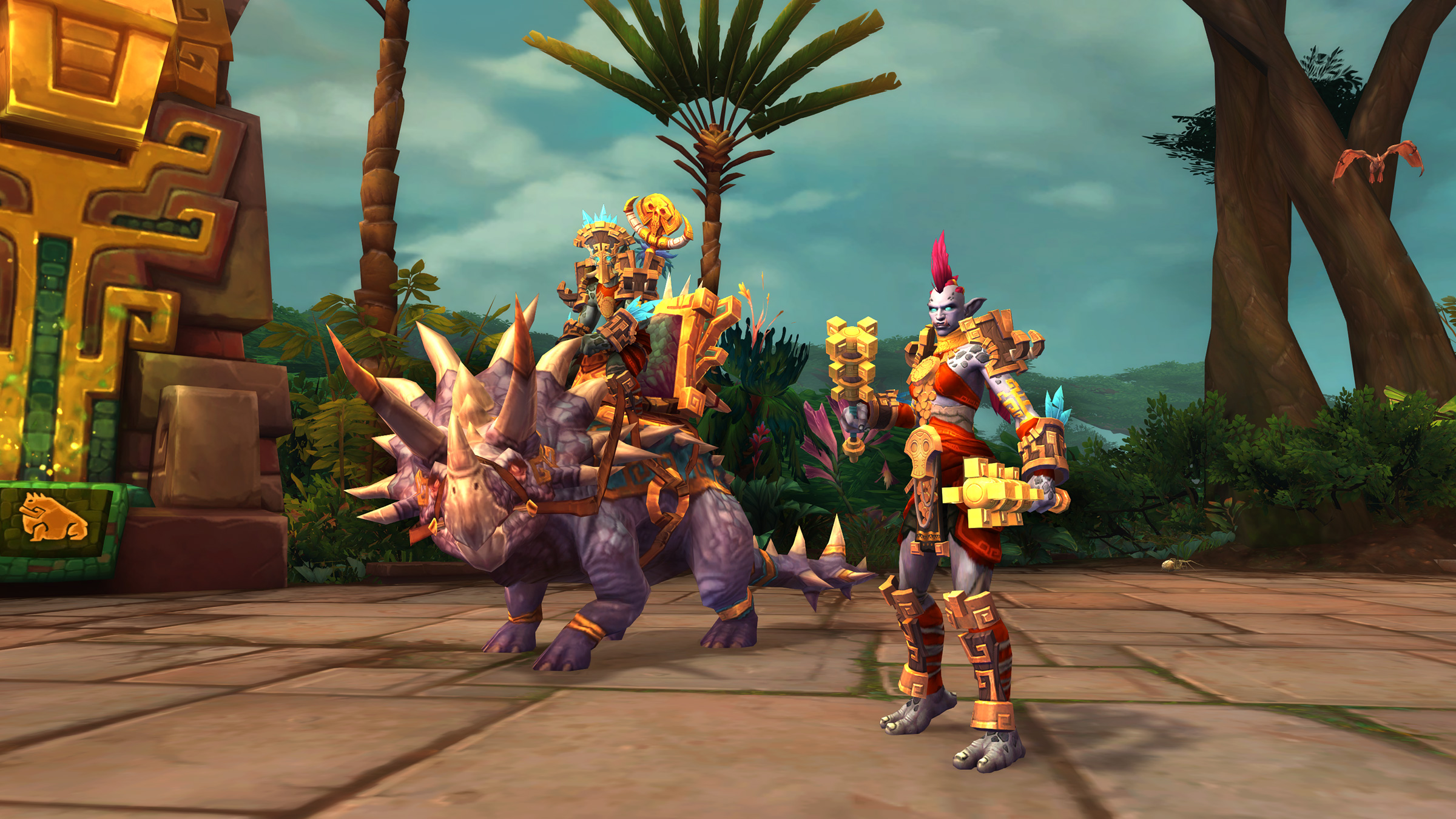 New Allied Races Ahead! Kul Tiran Humans and Zandalari Trolls