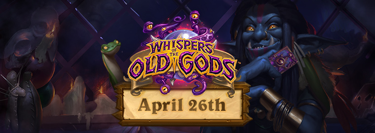 Whispers of the Old Gods Creeps into Action on April 26!