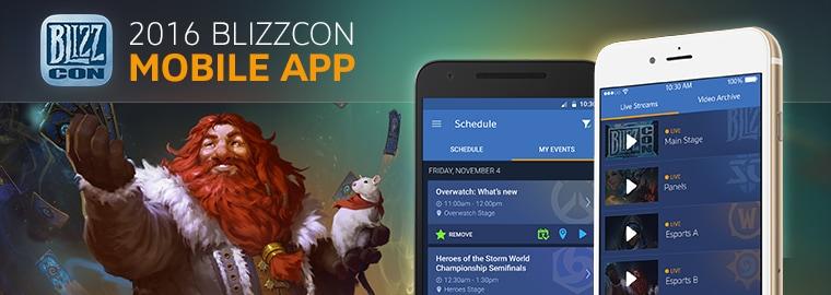 Seht Ihr Mit Dem Virtuellen Ticket Gemütlich Von Zu Hause Aus Zu? Dann  Solltet Ihr Euch Unbedingt Die Kostenlose App U201eBlizzCon 2016 Guideu201c Für  Euer ...