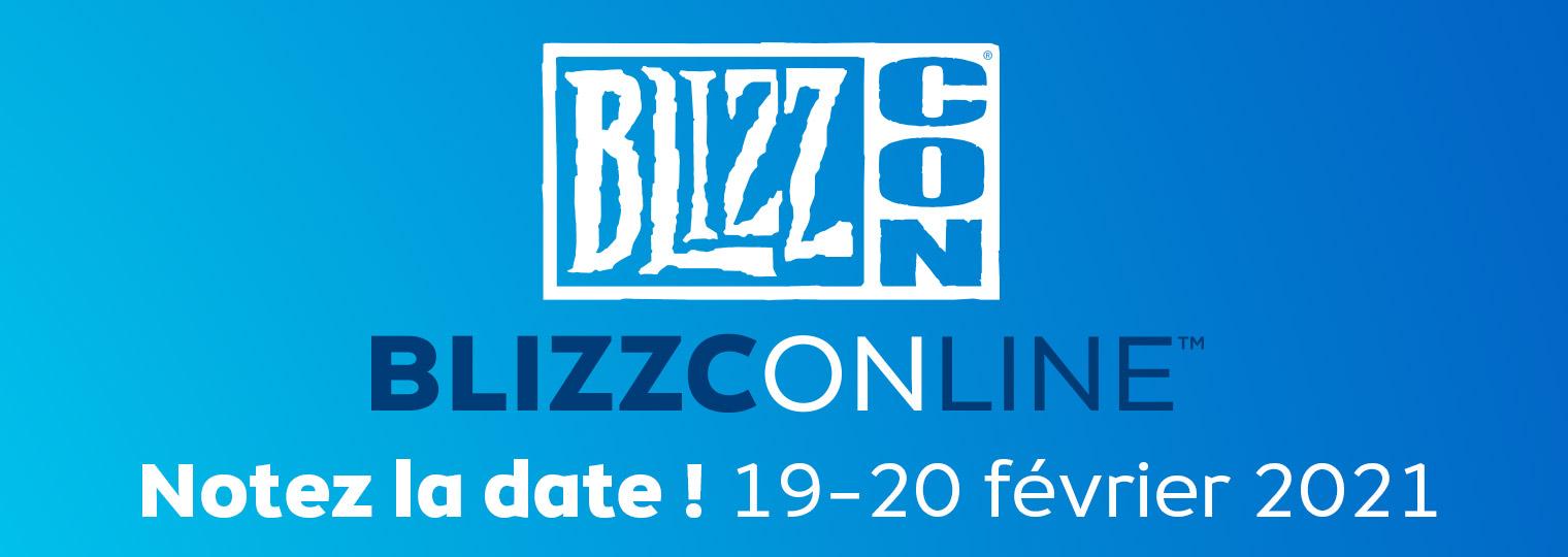Rendez-vous les 19 et 20 février pour la BlizzConline™