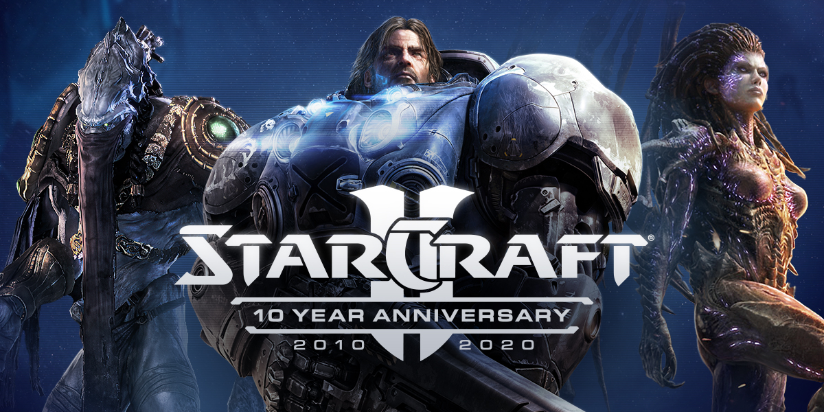StarCraft II is Turning 10—Celebrate With Us!