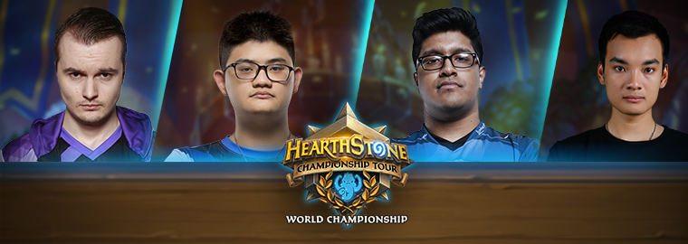 Your Last Call World Championship Players Are...