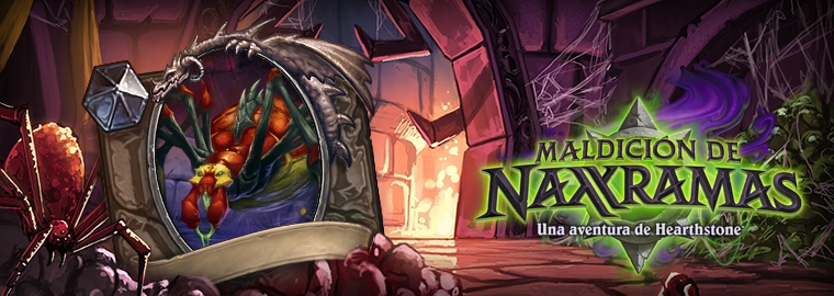 Maldición de Naxxramas: Arrabal Arácnido — ¡Ya disponible!
