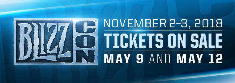 Get Ready for BlizzCon® 2018