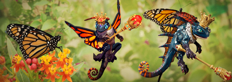 World's First Butterfly Cosplay – Part 3: Bringing Monarch Brightwing to Life