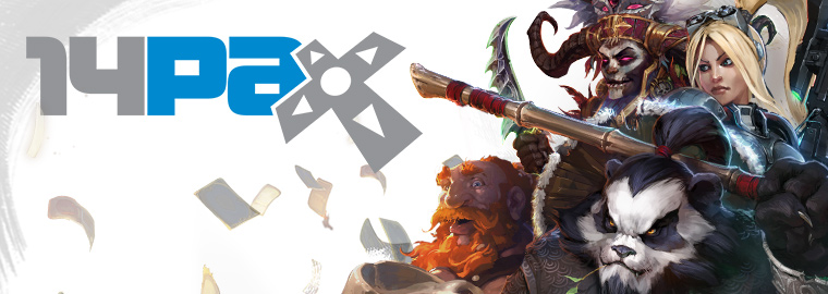 Blizzard Invades PAX Prime Aug. 29-Sept. 1 2014!