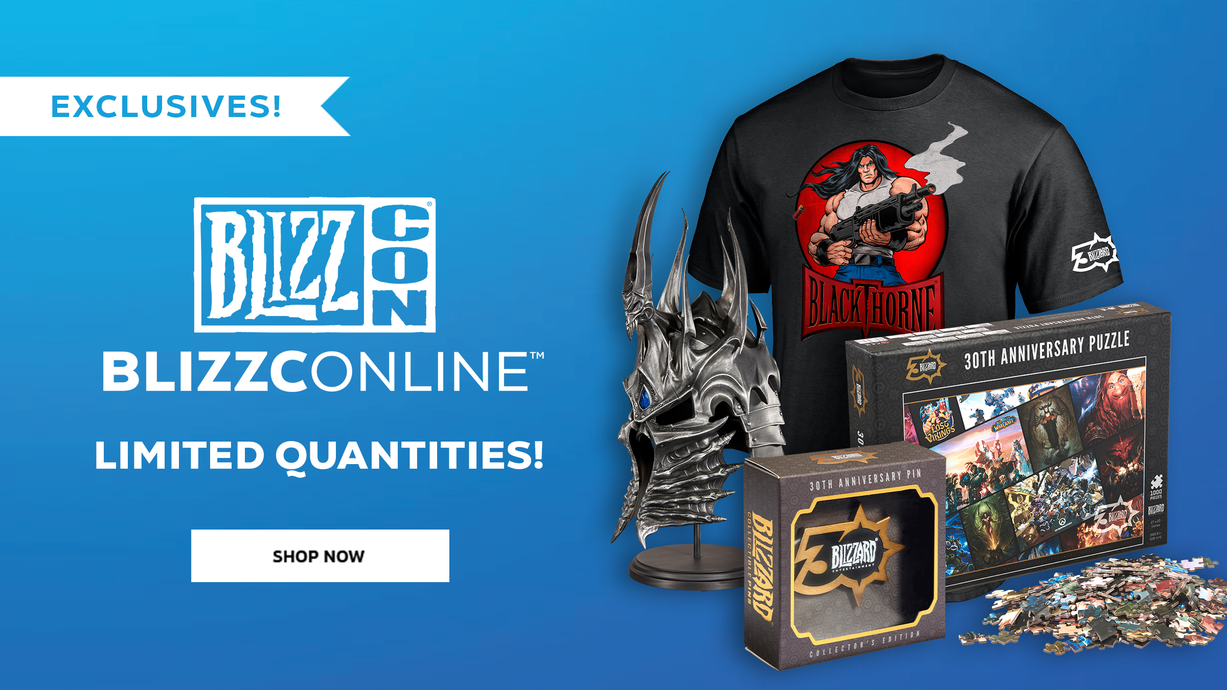 BlizzConline Gear Is Now Available!