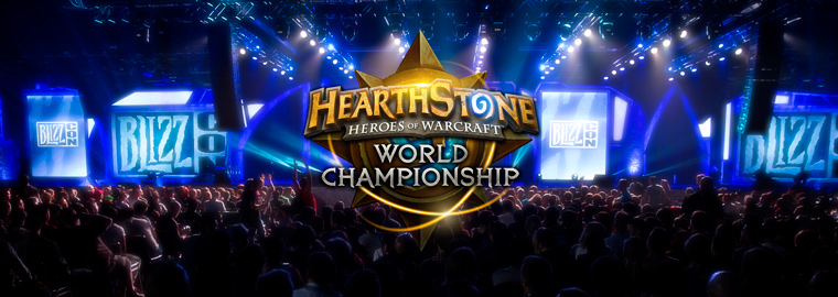 ¡No os perdáis el Hearthstone World Championship!