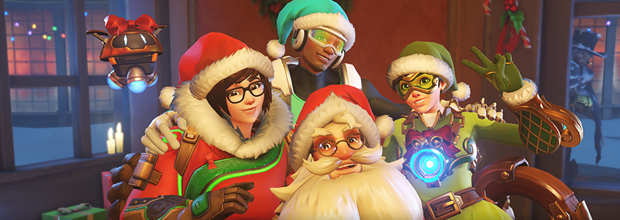 Jingle All the Way to Overwatch's Winter Wonderland