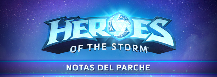 Notas del parche del RPP de Heroes of the Storm — 16 de abril de 2018