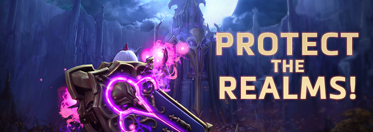 """Protect the Realms!"" Streamer Event"