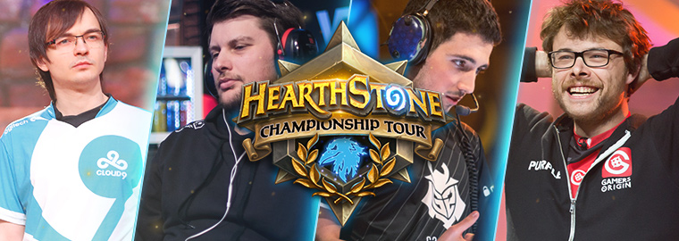 A Look at HCT 2018 Season 1's Point Leaders