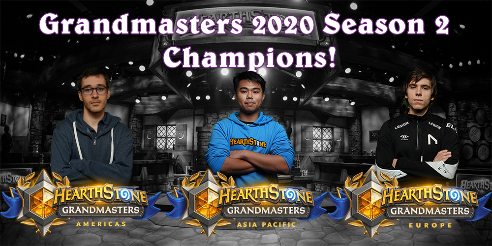Grandmasters 2020 Season 2 Champions Are Heading to the World Championship!