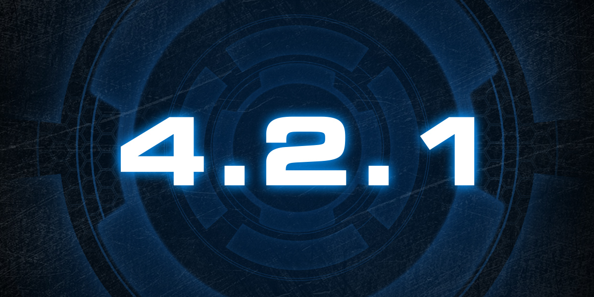 Notes de mise à jour pour la version 4.2.1 de StarCraft II