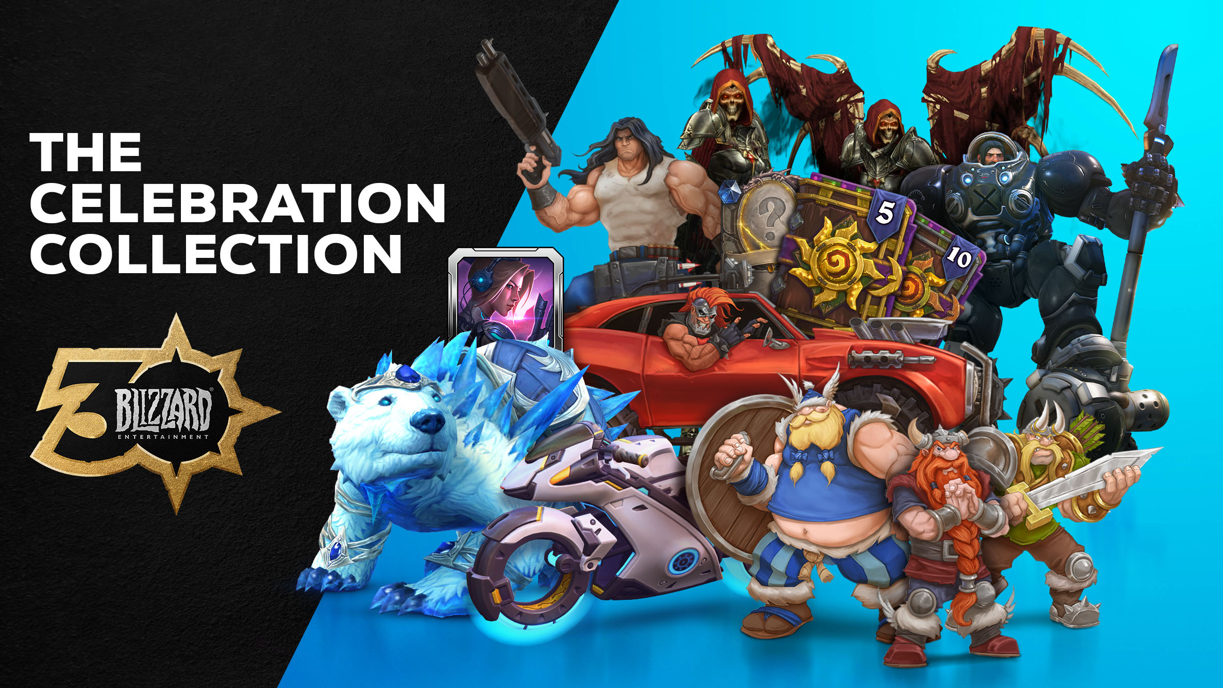 Commemorate 30 Years of Blizzard® Gaming With the Celebration Collection