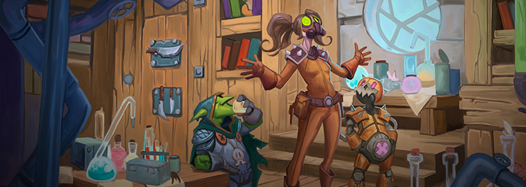 Hearthstone Digital Comic - Dr. Boom: Lowering the Boom