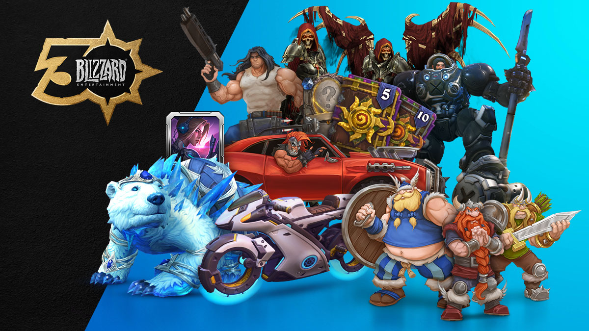 Festeggia 30 anni di Blizzard® con la Celebration Collection