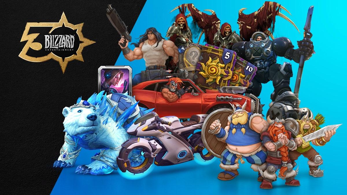 Conmemora 30 años de Blizzard® con la colección de celebración
