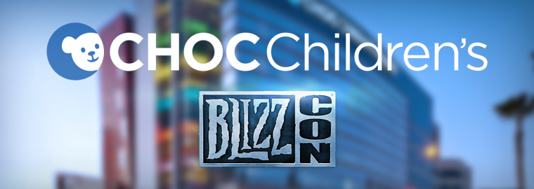 BlizzCon Charity Auction for CHOC Children's – Now Live!