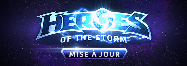 Notes de mise à jour de Heroes of the Storm (10 août)