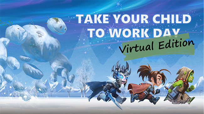 Inside Blizzard: Take Your Child to Work Day—Virtual Edition
