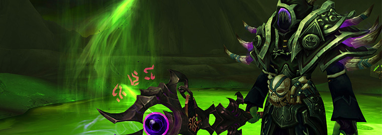 Legion: Warlock Artifact Reveal