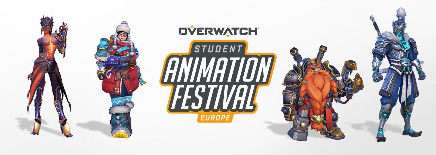 Zeigt euer Talent beim Overwatch Student Animation Festival
