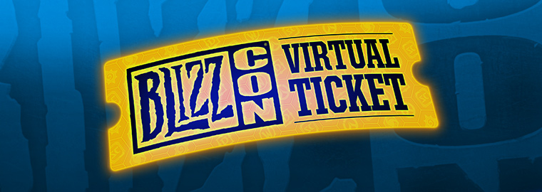 Snag Your BlizzCon® 2017 Virtual Ticket