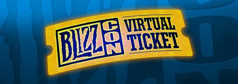 Resultado de imagem para virtual ticket blizzcon 2017