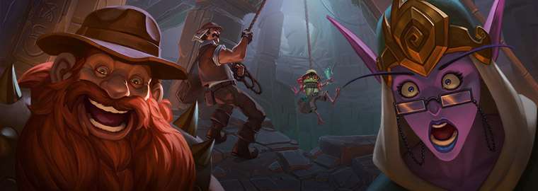 Hearthstone Update – September 10 – Tombs of Terror!