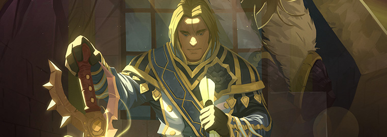 "New Comic: World of Warcraft: Legion #4—""Anduin: Son of the Wolf"""