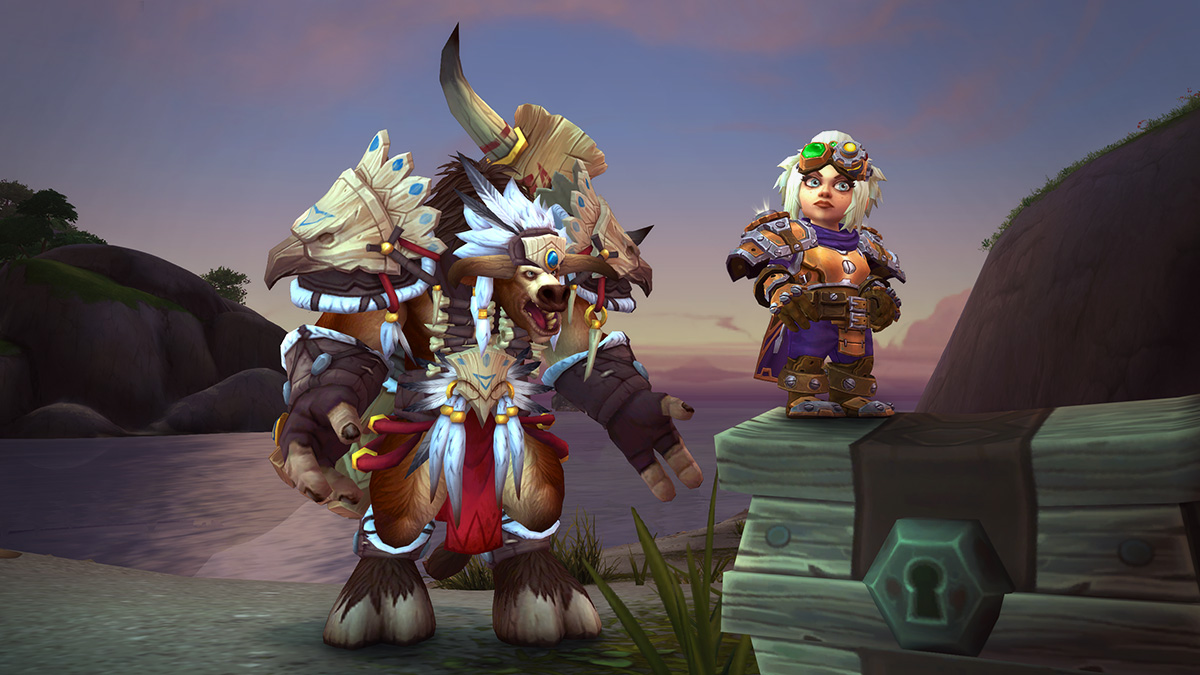 Tauren and Gnome Heritage Armor