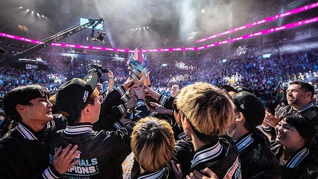사진: 결승전 최고의 순간