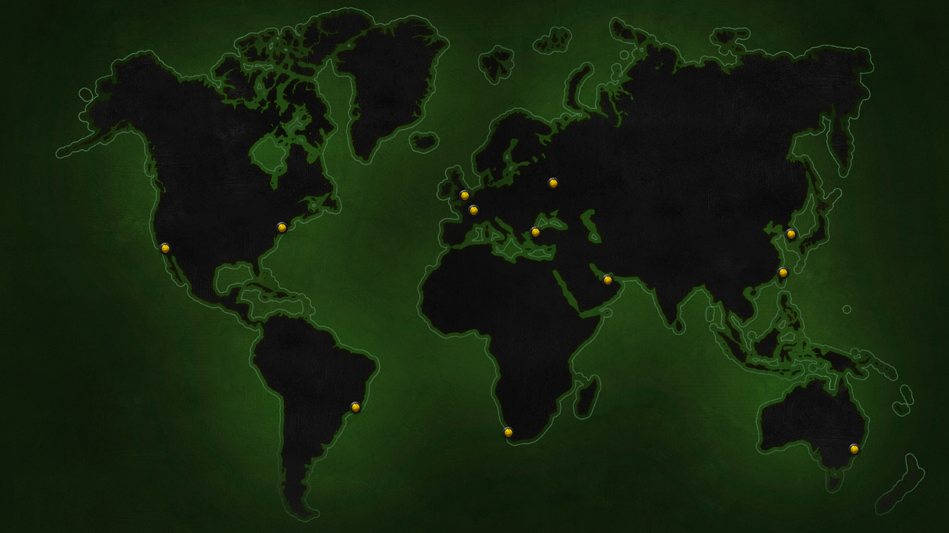 Weltweite Karte