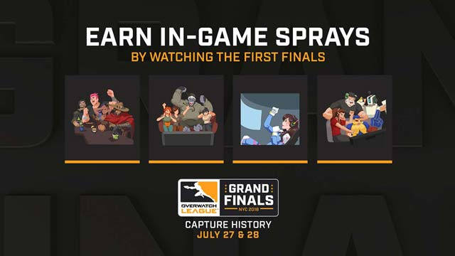 Earn New Sprays and Double League Tokens During Grand Finals