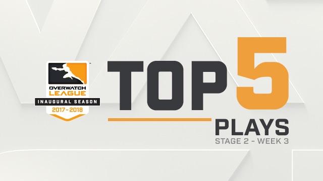 Top 5 Plays: Stage 2, Week 3