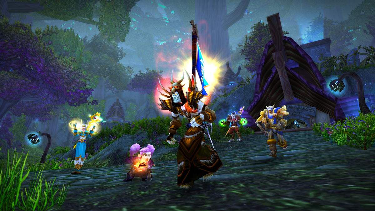 Capture the Flag in Warsong Gulch